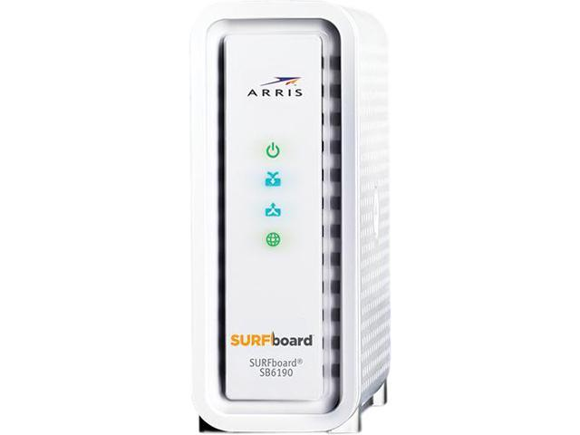 ARRIS SURFboard SB6190 DOCSIS 3 0 Gigabit+ Cable Modem - Newegg com