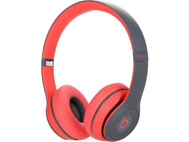 118b40310fa Beats Solo2 Wireless On-Ear Headphone - Red - Newegg.com