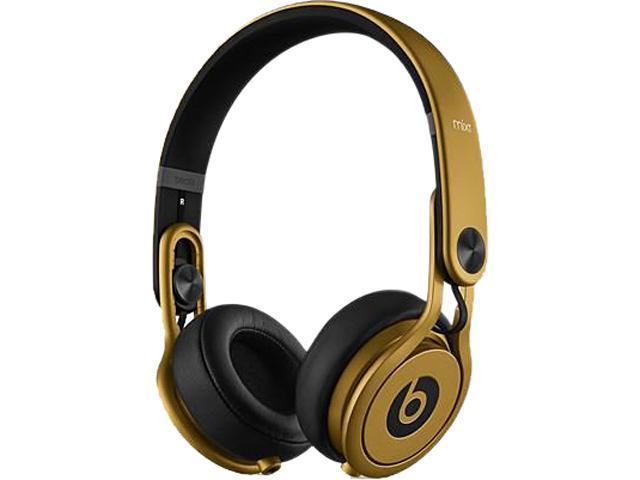 3e3b7d3d1e9 Beats by Dr. Dre Gold MH9W2AM/A Supra-aural Mixr High-Performance