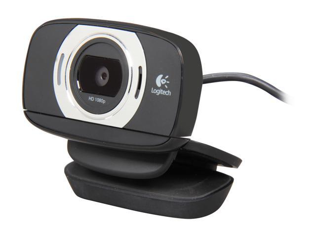 9b7774e6b10 Logitech HD Webcam C615 with Fold-and-Go Design and 360-Degree Swivel