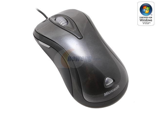 b1679403d35 Microsoft C6W-00001 Silver/Black 5 Buttons 1 x Wheel USB Wired Laser Mouse