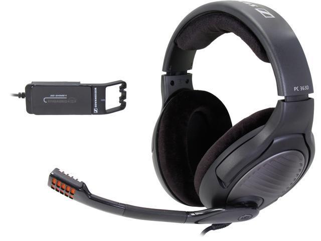 4cae91920e3 SENNHEISER PC 363D 2 x 3.5mm Connector Circumaural Headset - Black
