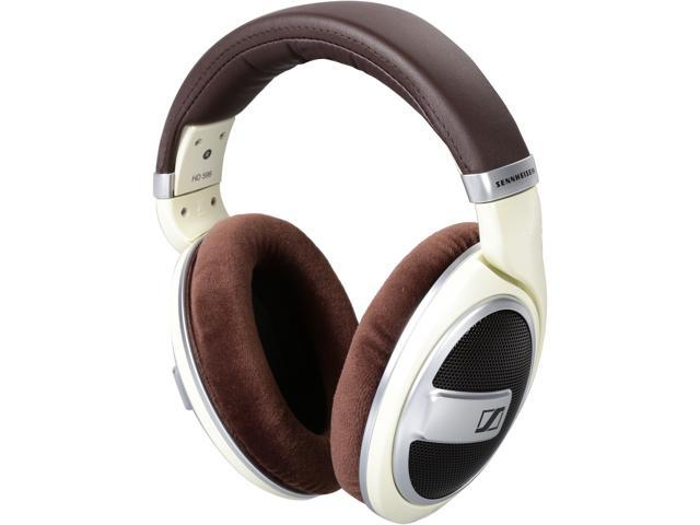 0fdc2eabcd7 Sennheiser HD 599 Around-Ear Headphones - Ivory - Newegg.com