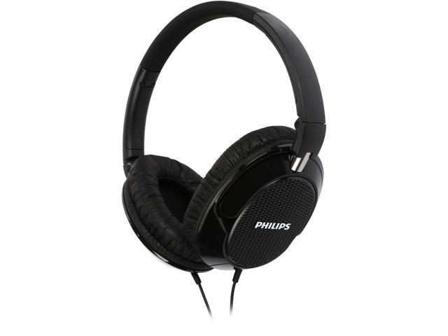 31276b302a1 PHILIPS FX3BK Over-ear Headphone - Black - Newegg.com