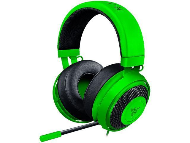 729c692f57d Razer Kraken Pro V2 - Analog Gaming Headset - Green - Newegg.com