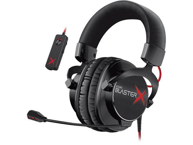 a7f8fe22b37 Creative Sound BlasterX H7 Tournament 3.5mm/ USB Connector Circumaural  Headset