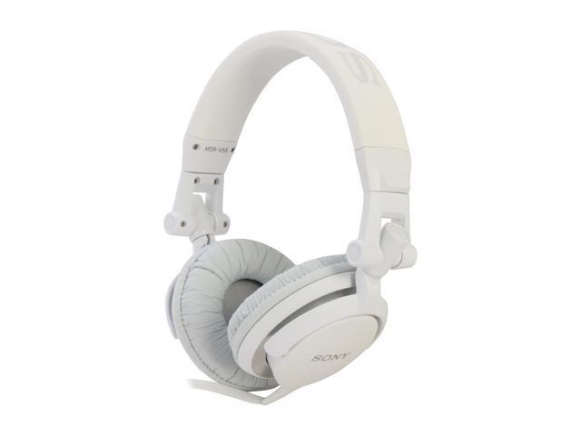 SONY White MDR-V55 WHI DJ Style Headphone (White) - Newegg.com cbcca2b68048d