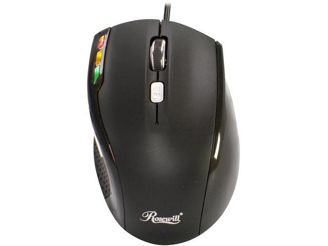 de67a02b325 Rosewill Helix RM-20 Black Wired Optical Mouse - Newegg.com