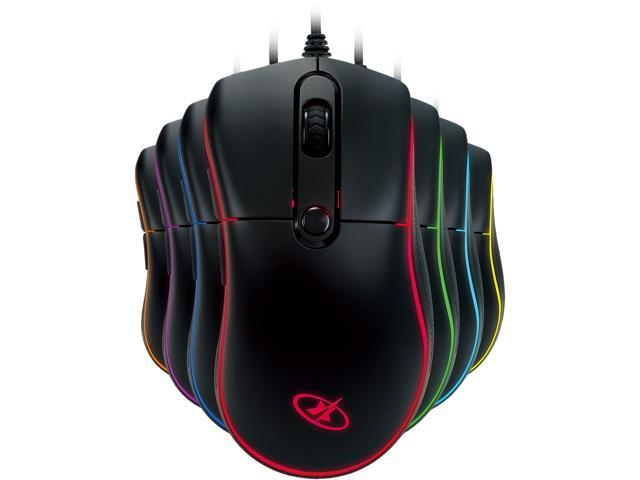 14.99 - Rosewill NEON M55 - 6000 dpi RGB Backlit Mouse  Optical Wired Gaming Mouse