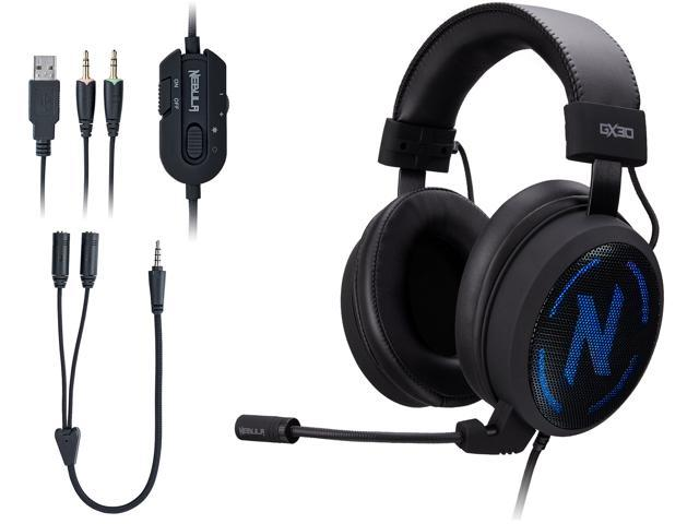 Rosewill NEBULA GX30 Gaming Headset with Microphone for PC / PS4 / Mac &  RGB Backlight - Newegg com