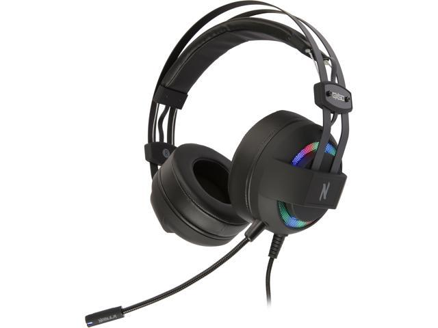 Rosewill NEBULA GX50 Gaming Headset with Detachable Microphone & RGB  Backlight - Newegg com