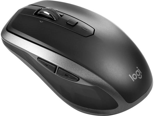 Logitech MX ANYWHERE 2S USB RF Wireless + Bluetooth Mouse Graphite