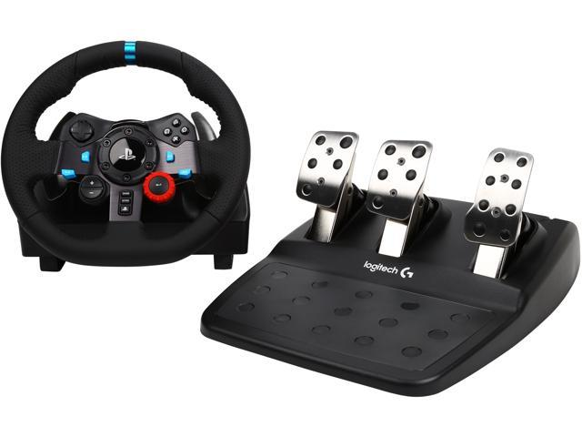 00fa3df658b Logitech G29 Driving Force Racing Wheel for PS4, PS3, PC (941-000110)