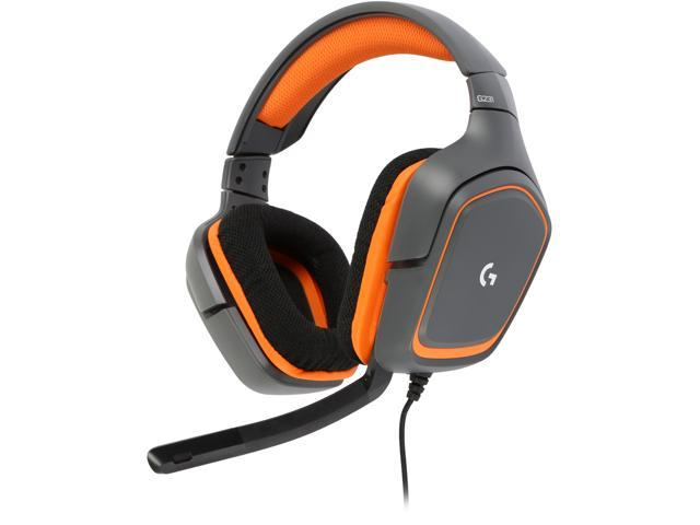 878c8363cf5 Logitech Recertified 981-000625 G231 Prodigy Stereo Gaming Headset with  Microphone for PC, Playstation
