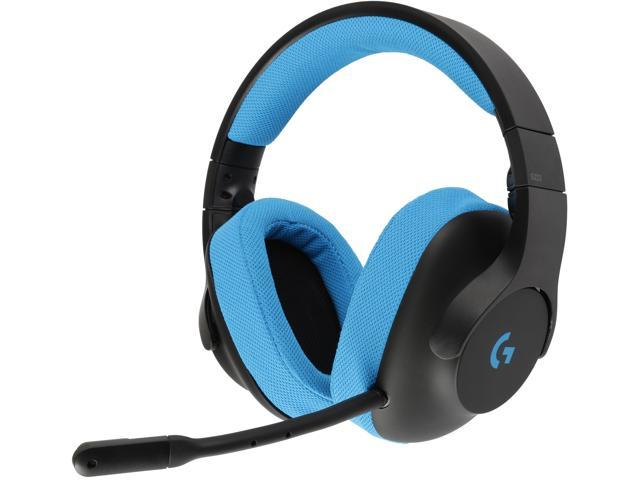 Logitech G233 Prodigy 3.5mm Connector Circumaural Headset - Newegg.com