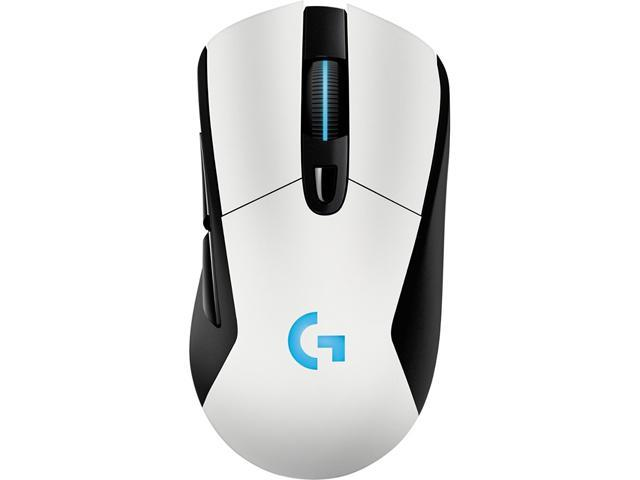 ddc84c682dc Logitech G703 LIGHTSPEED Wireless Gaming Mouse, RGB Lighting, 12,000 dpi w/  no Smoothing