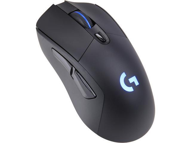 Logitech G703 LIGHTSPEED Wireless Gaming Mouse with HERO 16K Sensor,  LIGHTSYNC RGB, POWERPLAY Compatible - Newegg com