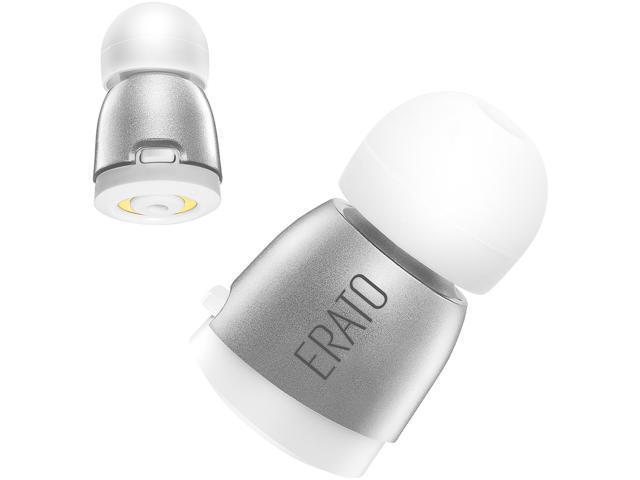94bc49e56e4 ERATO APOLLO 7 True Wireless Bluetooth Earphone with Microphone and  Charging Case - Silver
