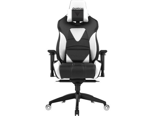 Gamdias Achilles M1 Rgb Gaming Chair Black White
