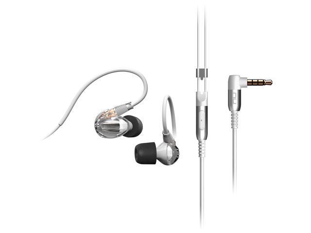 Optoma Nuforce Hem Dynamic High Resolution In Ear Headphones White