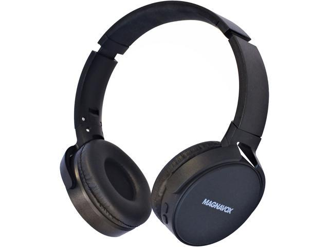 330539b6d1b Magnavox MBH542 Foldable Stereo Headphone with Bluetooth Wireless  Technology (Black)