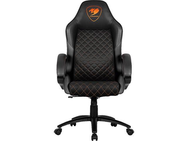 Cougar Fusion Black High Comfort Gaming Chair Newegg Com