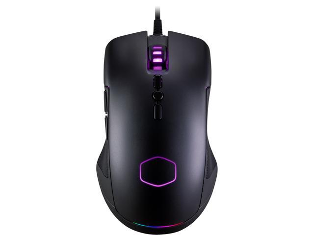 COOLER MASTER CM310 Black Wired Optical RGB Gaming Mouse - CM-310-KKWO2