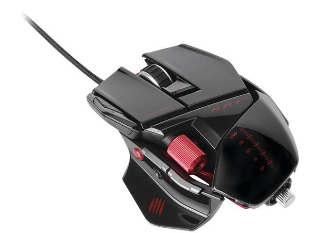 ddba12f0960 Mad Catz R.A.T.5 Gaming Mouse for PC and Mac - Gloss Black ...