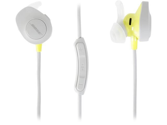 a44bab096ec Bose SoundSport Wireless Headphones - White - Newegg.com