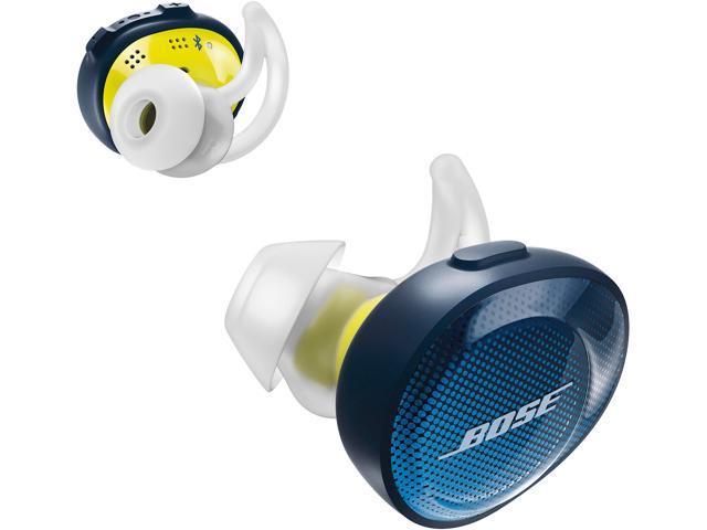 Bose SoundSport Free Truly Wireless Sport Headphones - Navy/Citron