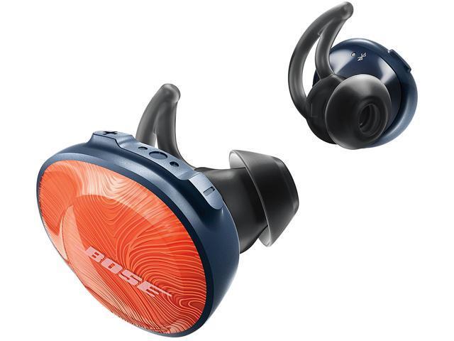 5c8ee07426e Bose SoundSport Free Truly Wireless Sport Headphones - Orange/Navy
