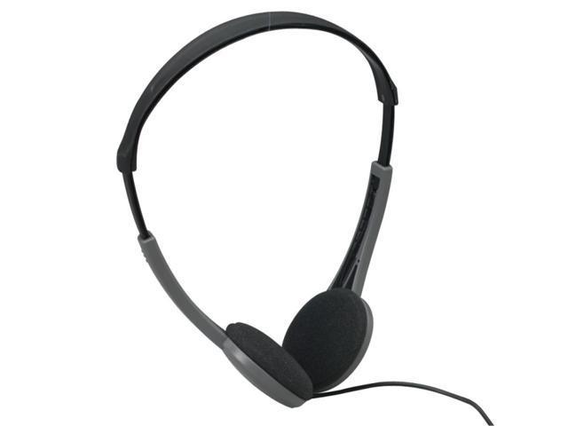 Maxell Silver Black HP-200F 3.5mm Connector Supra-aural Lightweight Stereo  Headphone 08ea6cbb5ce9f