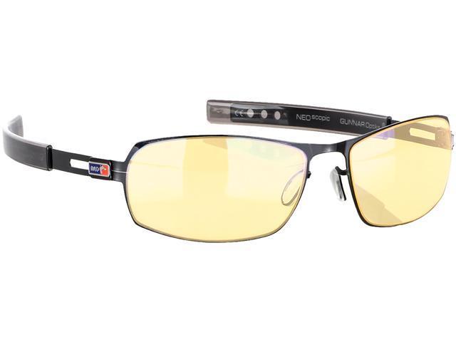 e718db10b7 Gunnar MLG Phantom Gaming Eyewear with Amber Lens Tint and Gloss Onyx Frame  Color PHA-00101