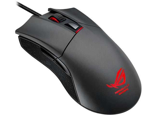 ASUS ROG Gladius Wired Optical Gaming Mouse, 6400 DPI, Steel Grey