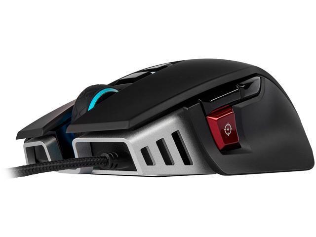 9d745da34c9 Corsair M65 RGB ELITE Tunable FPS Gaming Mouse, Black, Backlit RGB LED,  18000