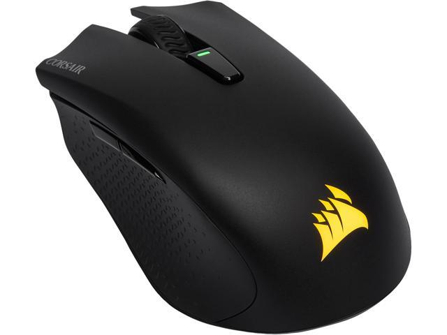 Corsair HARPOON RGB Wireless Rechargeable Gaming Mouse with SLIPSTREAM  Technology, Black, Backlit RGB LED, 10000 dpi, Optical - Newegg com