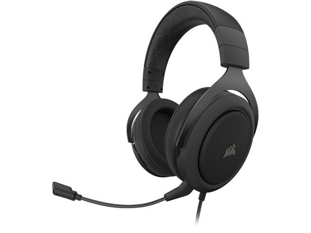 Corsair HS60 PRO SURROUND 3.5mm Connector Circumaural Gaming Headset, Carbon