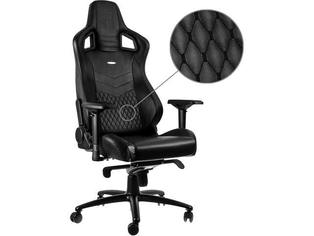 Fine Noblechairs Epic Real Leather Gaming Chair Nbl Rl Bla 001 Ibusinesslaw Wood Chair Design Ideas Ibusinesslaworg