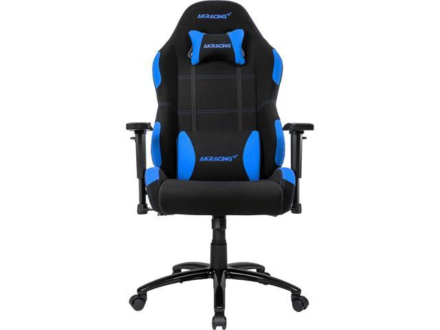 Akracing Core Series Ex Wide Black Blue Extra Wide Fabric