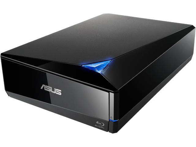 ASUS USB 2.0 / USB 3.0 External 16X Blu-Ray Re-writer MacOS Compatible Model BW-16D1X-U LITE/BLK /G /AS