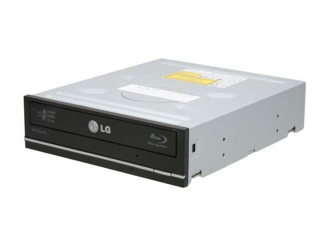 LG Black Internal 12X Super Multi Blue with 3D Playback Blu-ray Disc Rewriter SATA WH12LS38 LightScribe Support
