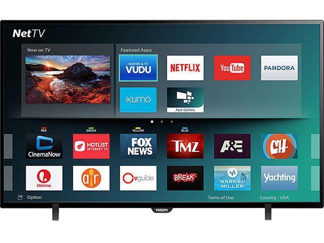 Philips 43PFL4902/F7 43-Inch 1080p HD LED TV - Newegg.com