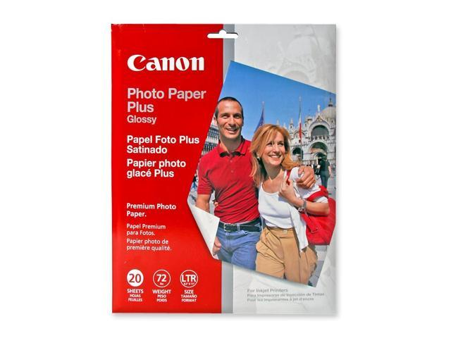 Canon Usa 2311b001 Photo Paper Plus Glossy Ii 69 Lbs 8 12 X 11