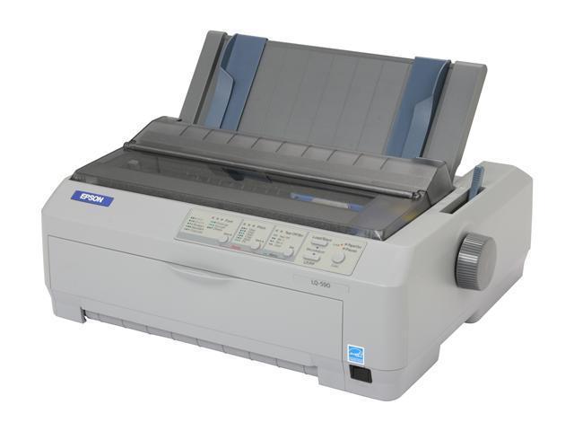 lq 590 24 pin dot matrix impact printer newegg com rh newegg com epson lq 590 service manual pdf Parts Manual