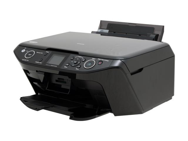 epson stylus photo rx595 c11c693201 up to 37 ppm black print speed rh newegg com Install Epson Printer RX595 Epson RX595 Printer Box