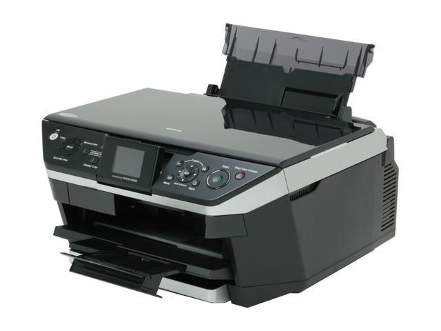 epson stylus photo rx680 c11c686201 printer newegg com rh newegg com Epson Printer All in One Replacement CD Tray Epson RX680