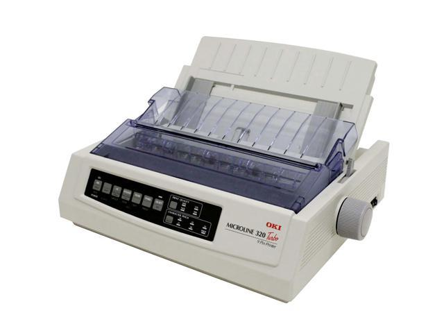 oki data microline 320 turbo 62411601 dot matrix impact printer rh newegg ca impresora oki 320 turbo manual oki microline 320 turbo 9 pin printer manual