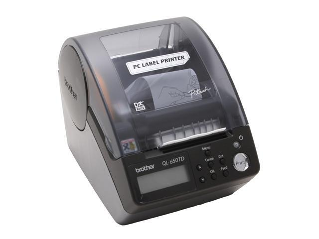 brother QL-650TD Label Printer with Built-in Time and Date Function
