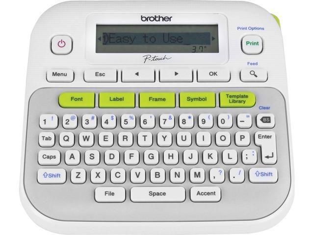Brother P Touch Pt D210 Thermal Transfer Compact Label Maker