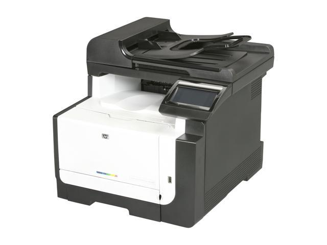 hp laserjet pro cm1415fnw ce862a mfc all in one up to 12 ppm 600 x rh newegg com